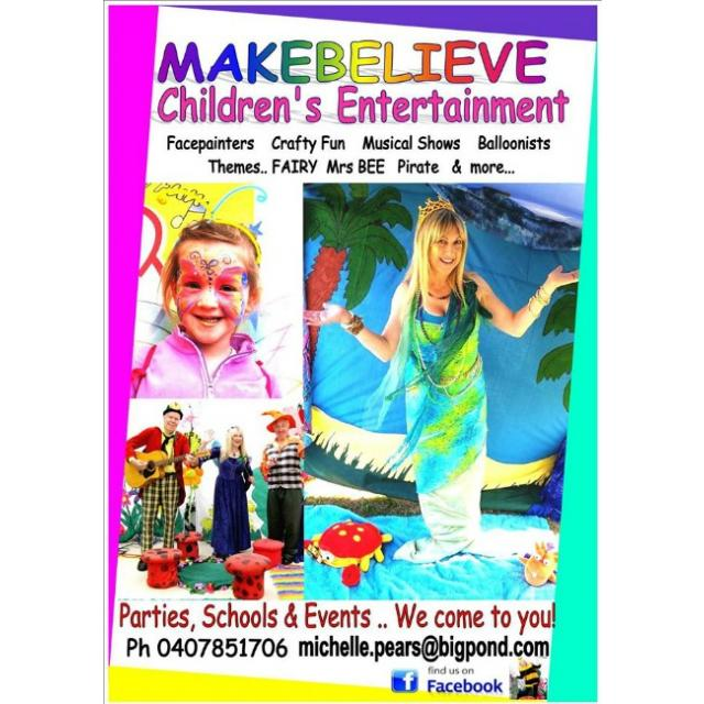 make believe childrens entertainment