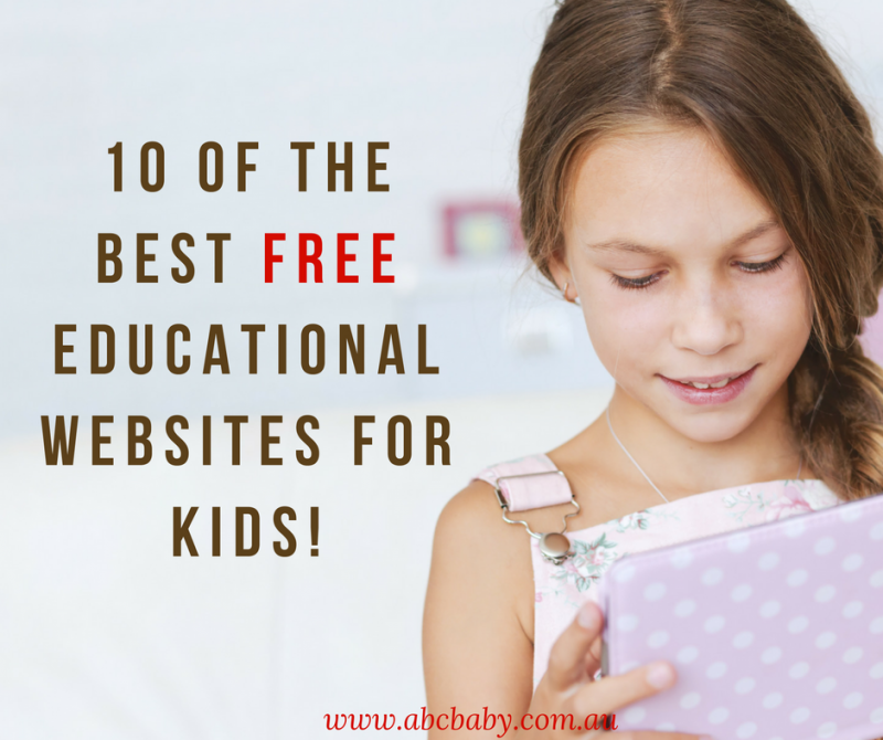 10 Of The Best Free Educational Websites For kids!