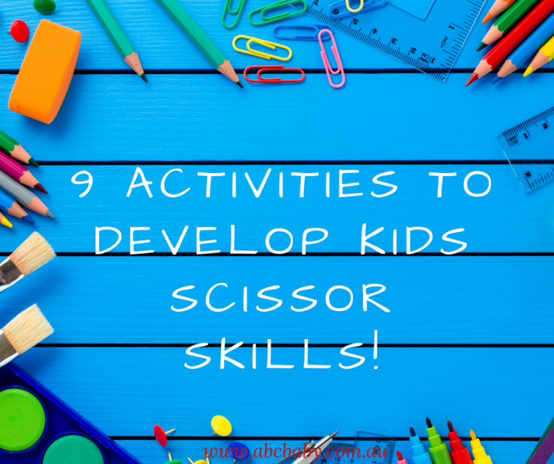 9 Activities To Develop Kids Scissor Skills!