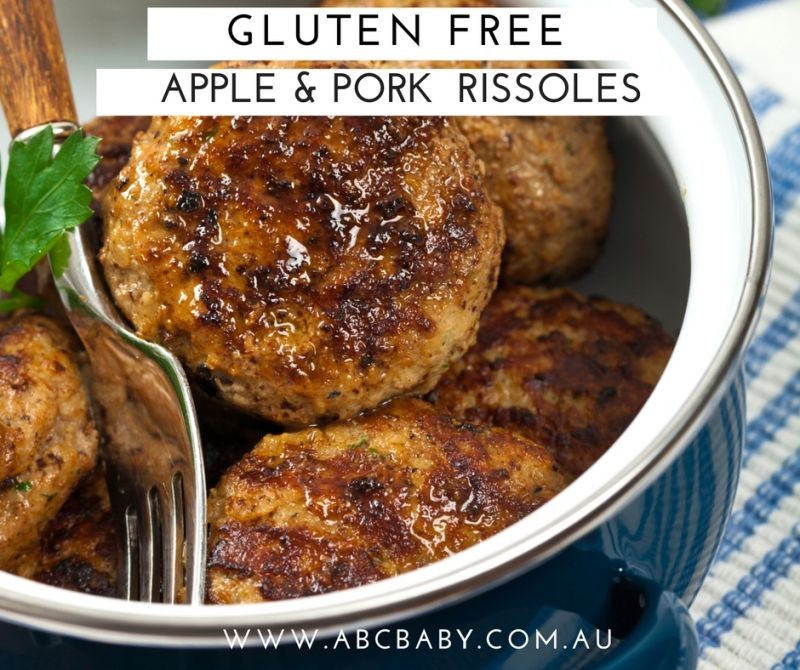 Gluten Free Apple And Pork Rissoles