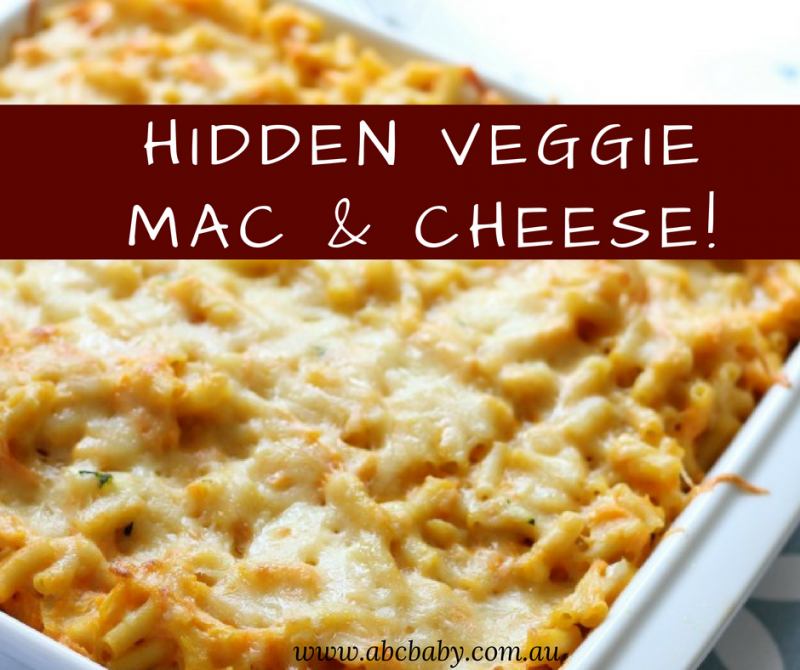 Hidden Veggie Mac And Cheese
