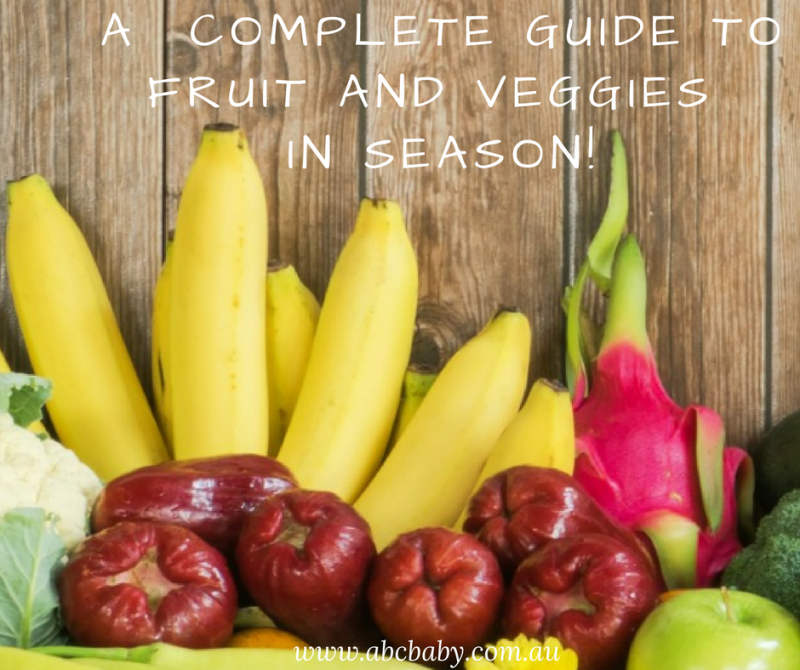 A  Complete Guide To Fruit And Veggies In Season