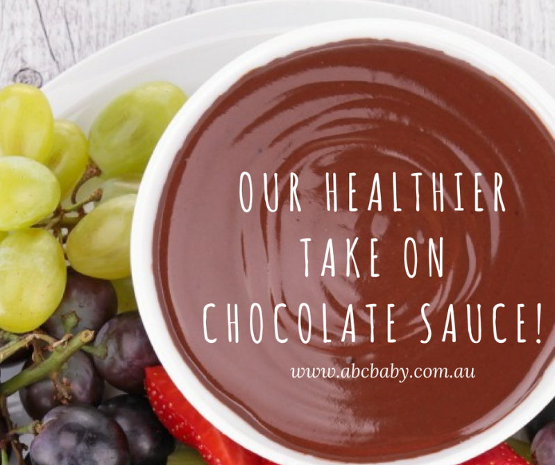 Our Healthier Take On Chocolate Sauce!