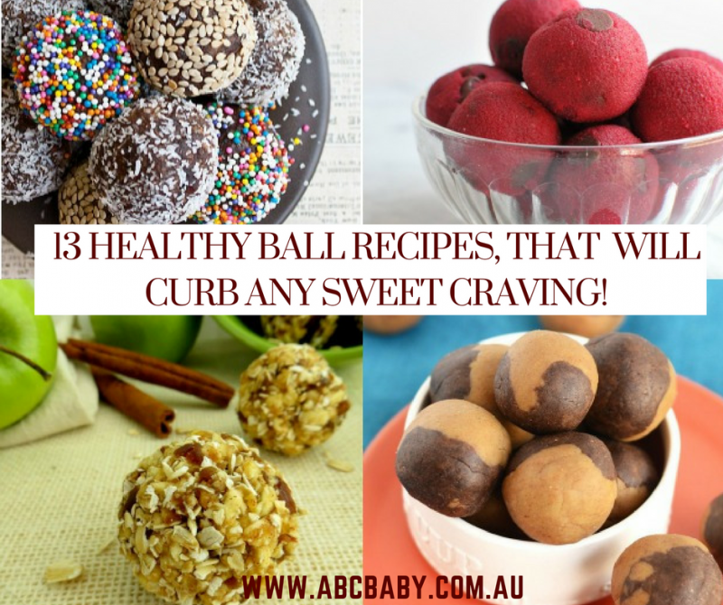 13 Healthy Ball Recipes, that will curb any sweet craving!