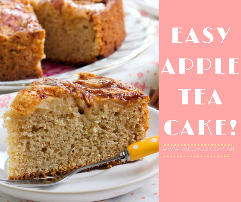 Easy Apple Tea Cake