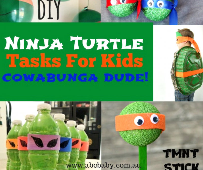 Cowabunga Dude Check Out These 12 Ninja Turtle Crafts - Narley!