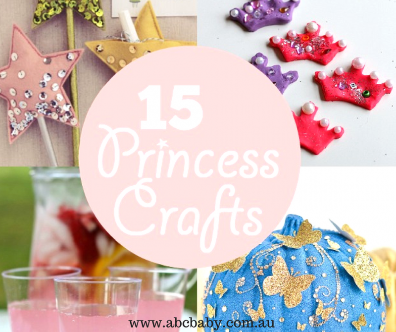 15 Princess crafts kids will love!