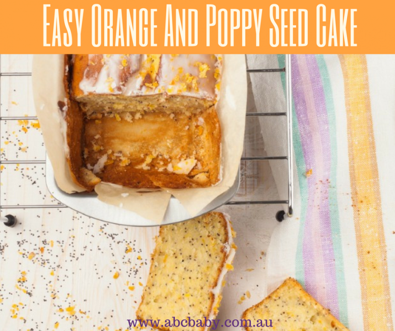 Easy Orange And Poppy Seed Cake
