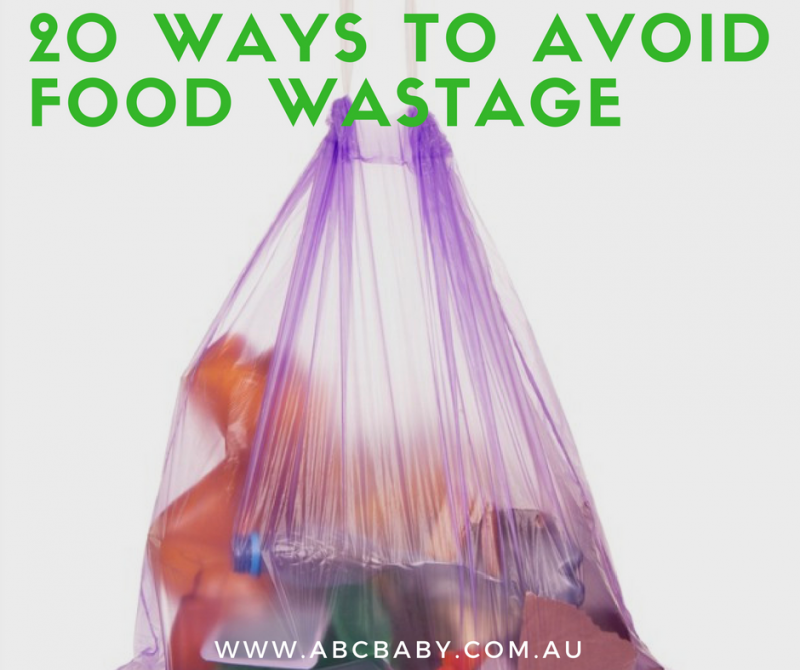 20 Ways To Avoid Food Wastage