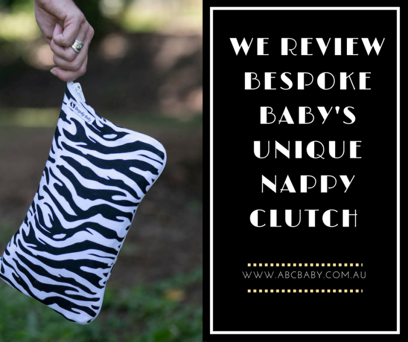 We Review Bespoke Baby's Unique Nappy Clutch!