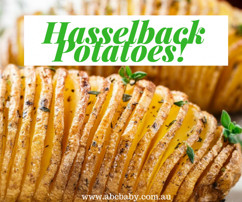 Make Our All Time Favourite Hasselback Potatoes!