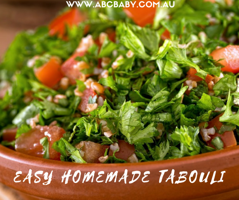 Easy Homemade Tabouli