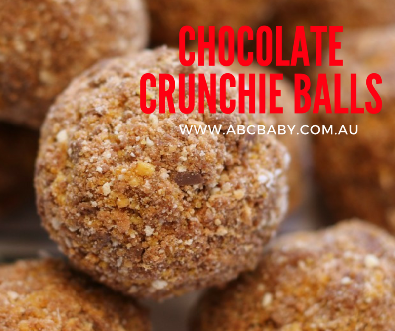 Chocolate Crunchie Balls
