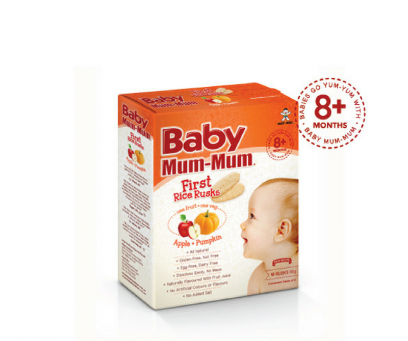 Certified Organic, Free from major allergens & Sugar FREE! - Why we love Baby Mum - Mum!