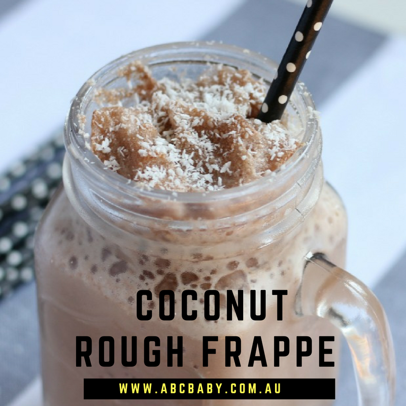 Keep Cool With This Coconut Rough Frappe!