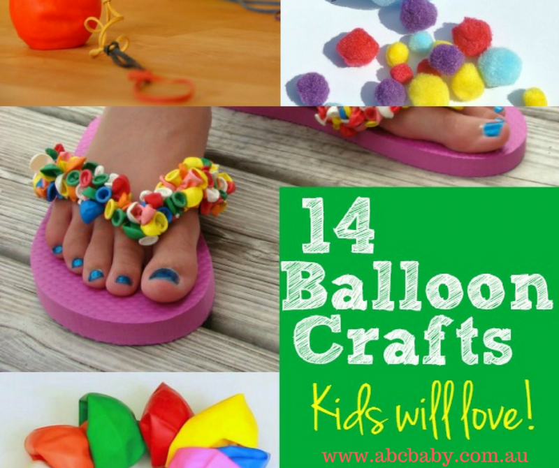 14 Kids Craft Ideas You Can Make With Balloons!