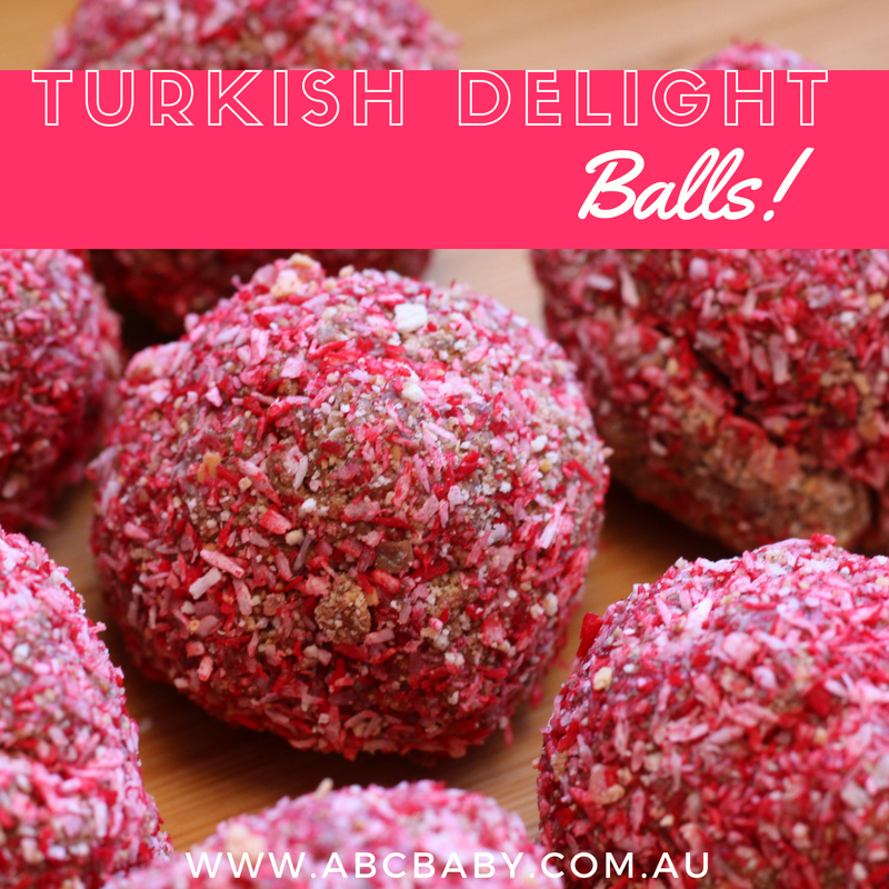 Turkish Delight Balls!