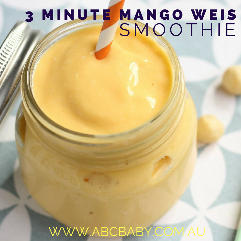 3 Minute Mango Weis Smoothie!