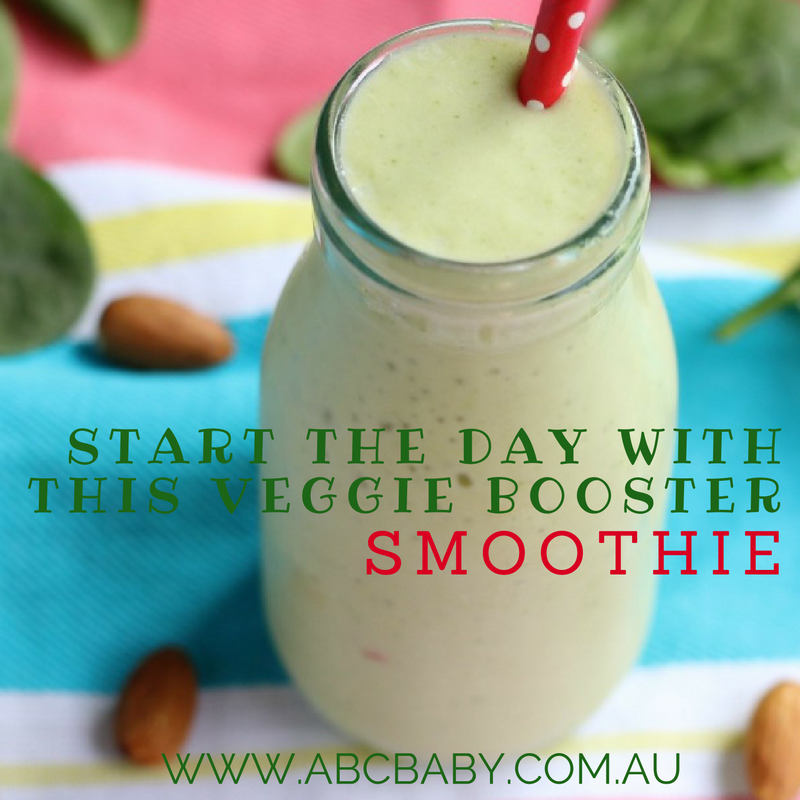 Start The Day With This Veggie Booster Smoothie!