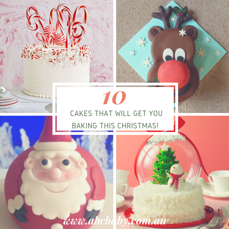 10 Cakes That Will Get you Baking This Christmas!