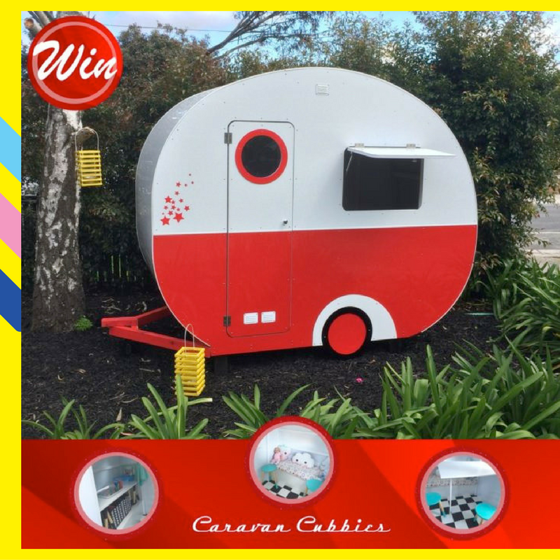 WIN the ULTIMATE GIFT for Christmas this year – a Classic Vintage Australian Caravan Cubby worth $2495