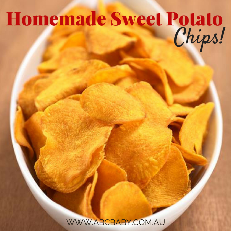 Homemade Sweet Potato Chips!