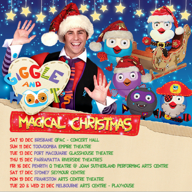Australia Get Ready For Giggle And Hoot's Magical Christmas!
