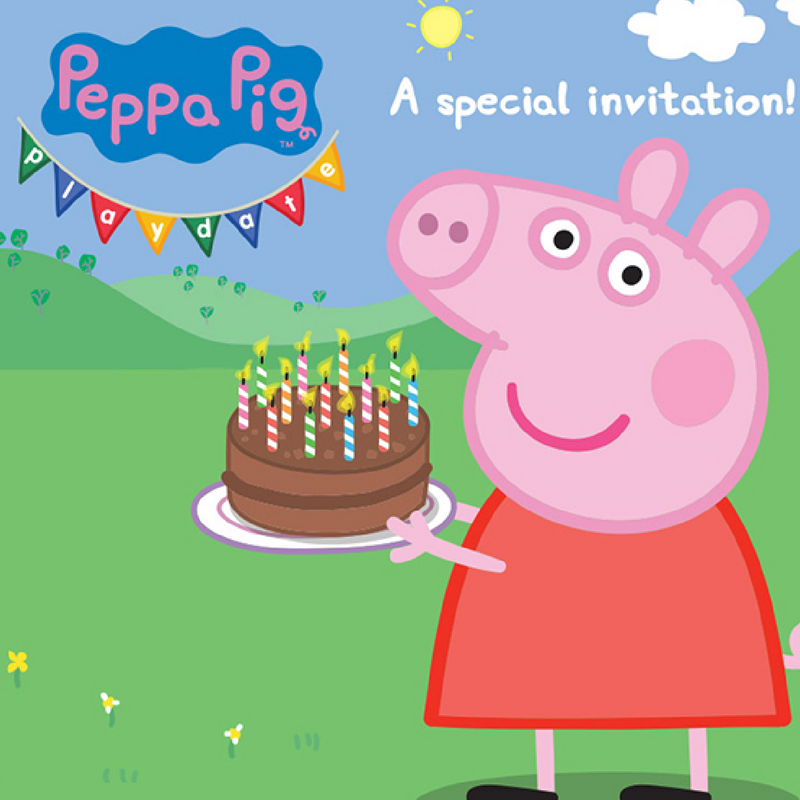 PEPPA PIG PLAYDATE - A NEW SUPER-SIZED INTERACTIVE EXPERIENCE!