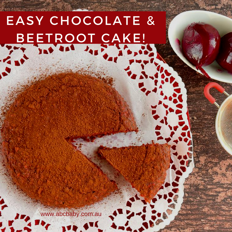 Easy Chocolate & Beetroot Cake!