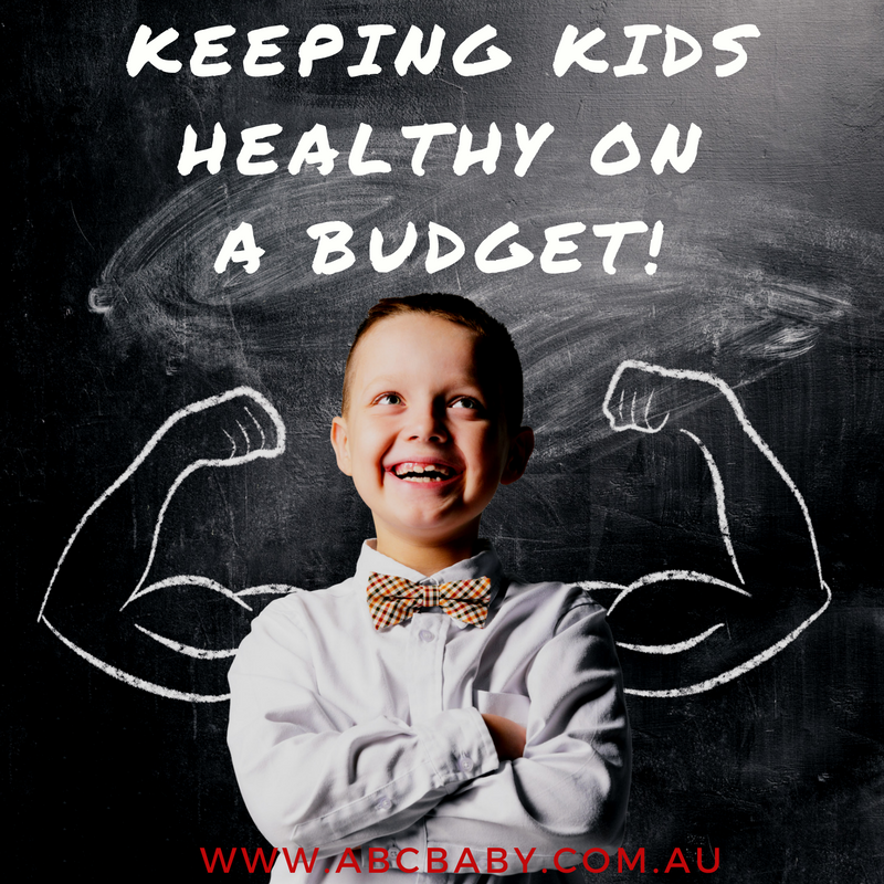 Keeping kids Healthy On A Budget