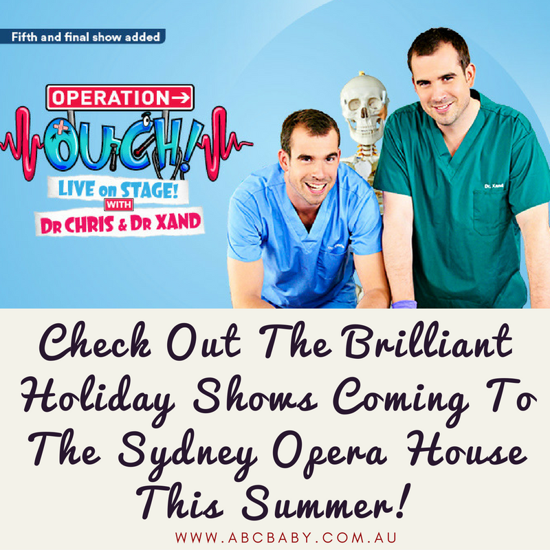 Check Out The Brilliant Holiday Shows Coming To The Sydney Opera House This Summer!