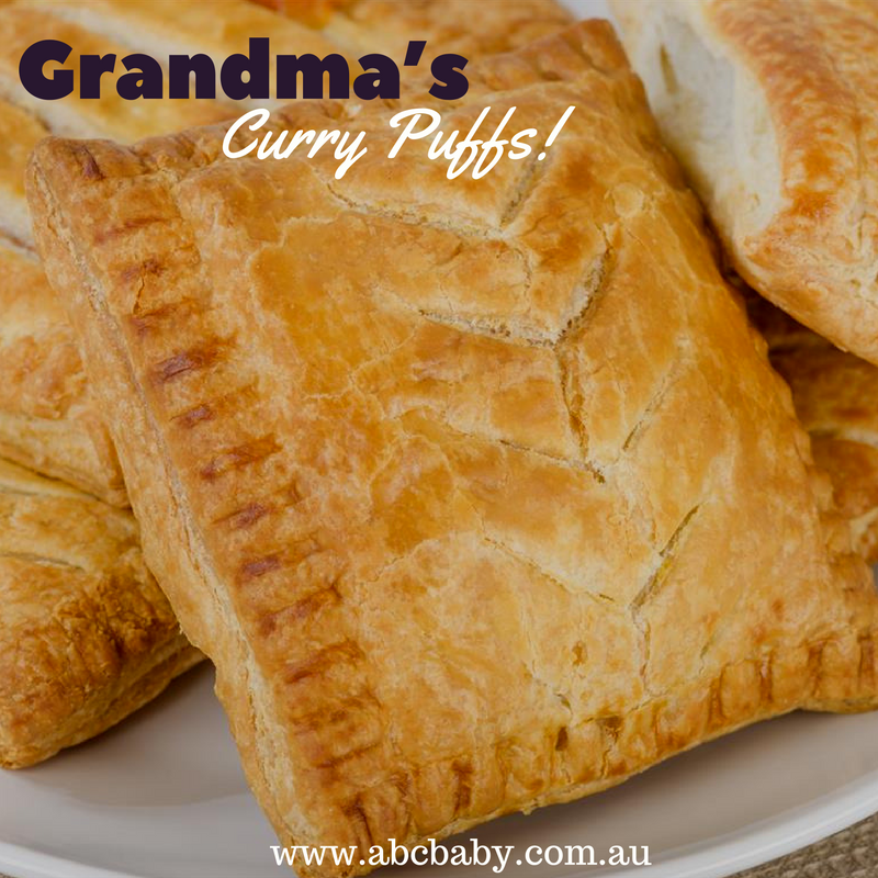 Grandma's Curry Puffs!