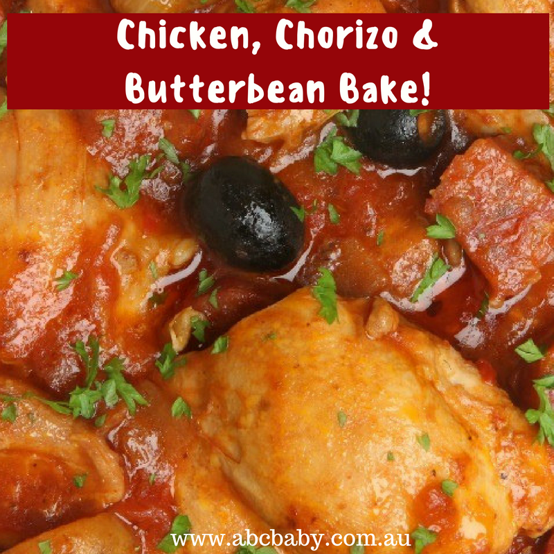 Chicken, Chorizo & Butterbean Bake