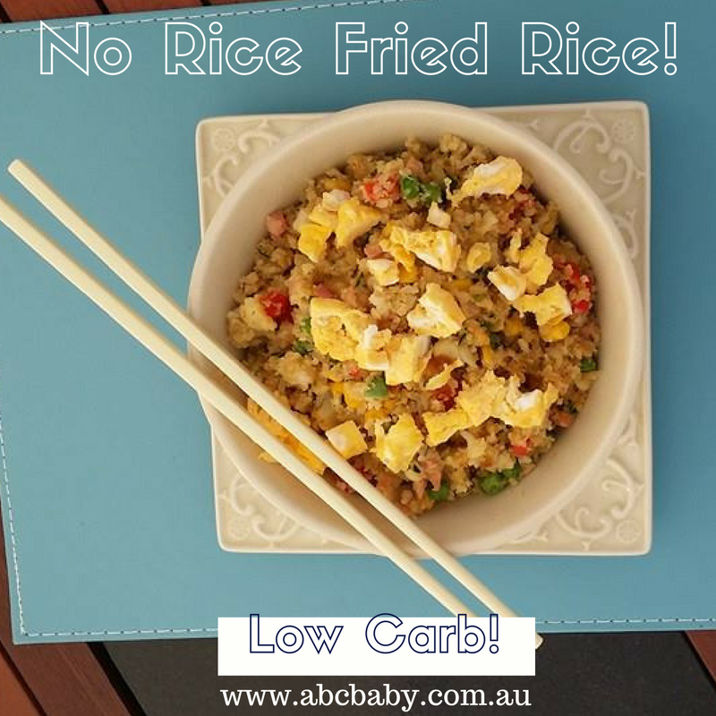 No Rice Fried Rice!
