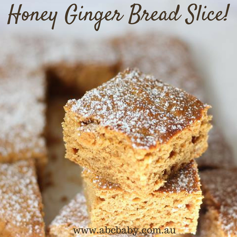 Honey Ginger Bread Slice!