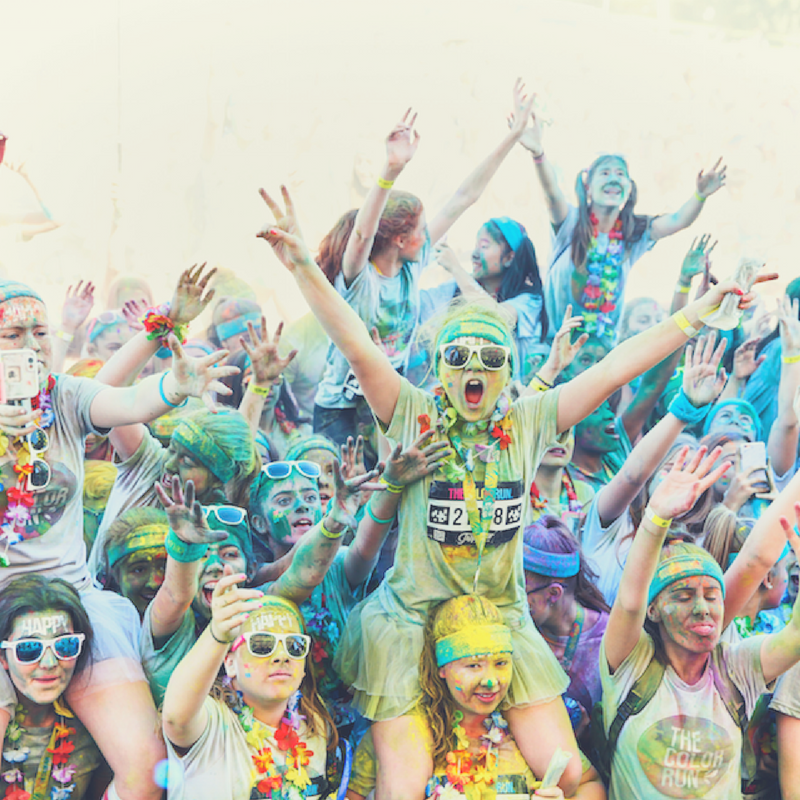 Get Your White Clothes Ready, The Color Run Is Coming To A City Near You!
