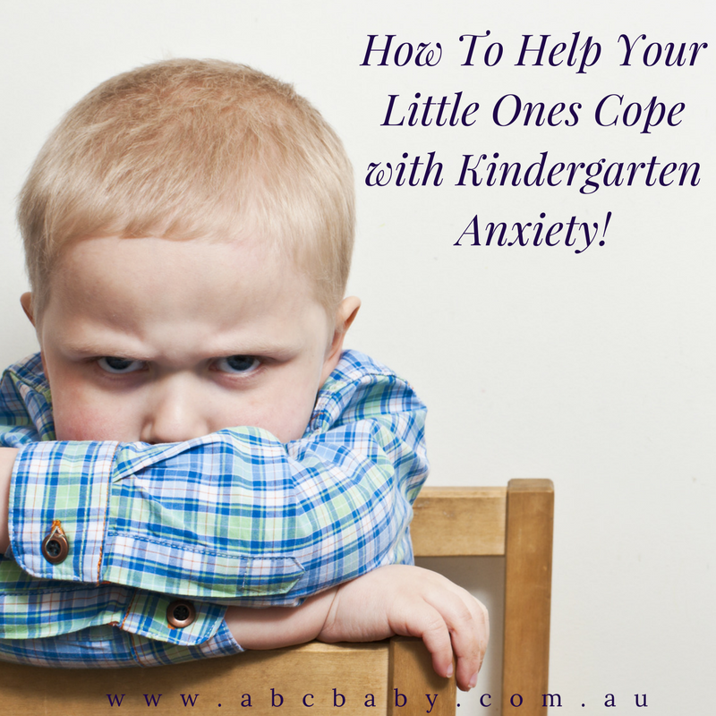 How To Help Your Little Ones Cope with Kindergarten Anxiety!