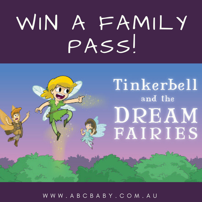 Win A Family Pass To See Tinkerbell and the Dream Fairies!