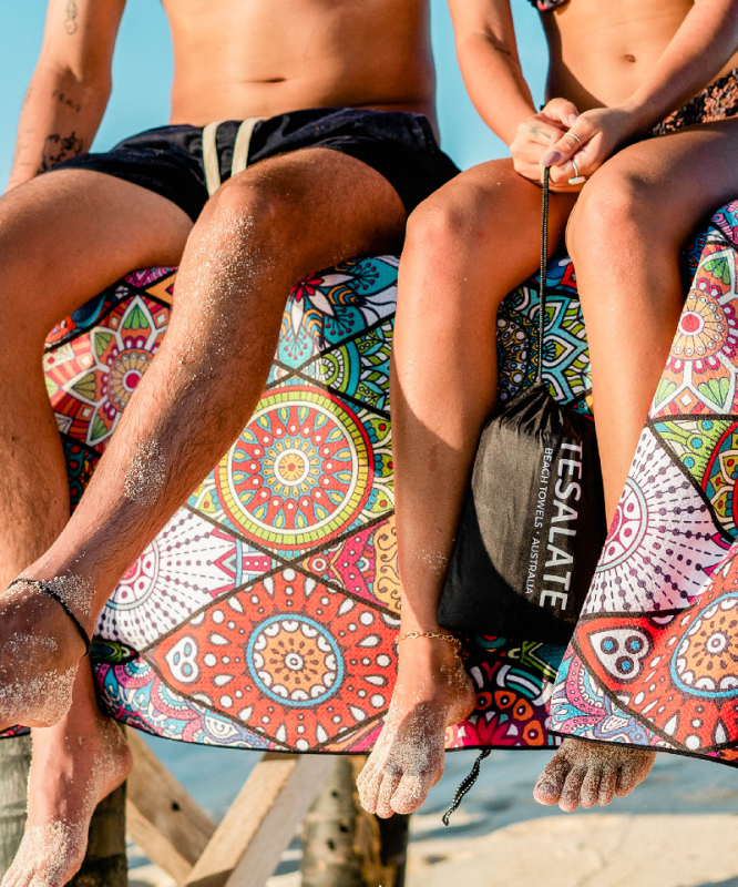 Sand free beach towels