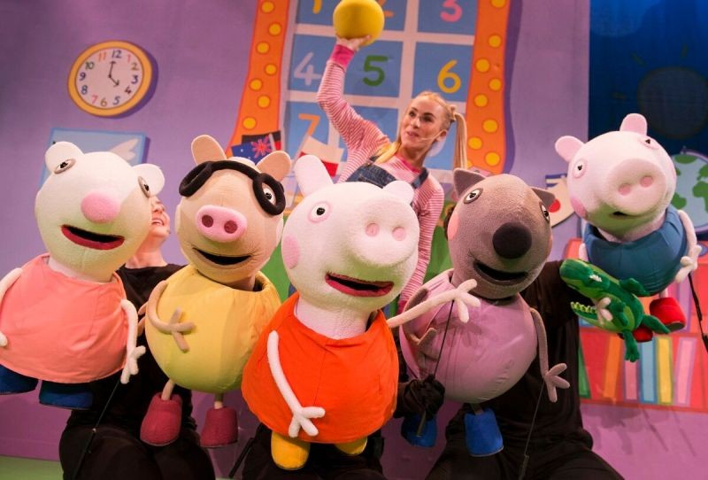Win Family Pass to Peppa Pig Live!