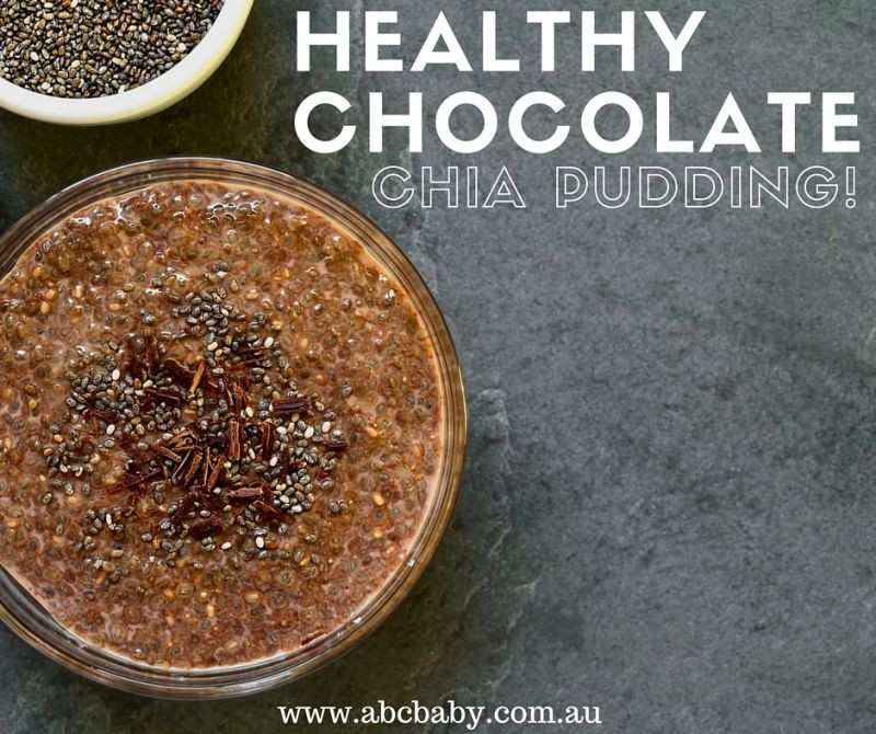 Chocolate Chia Breakfast Pudding