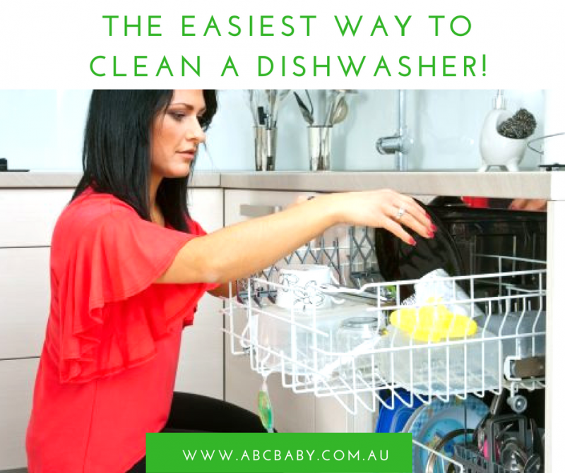 The Easiest Way To Clean A Dishwasher!