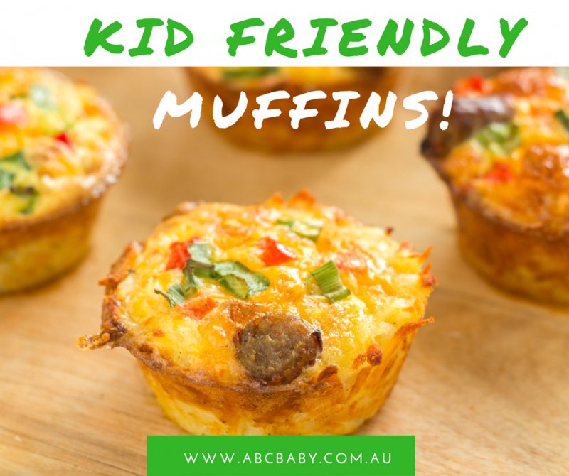Kid Friendly Muffins