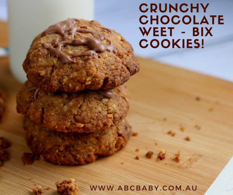 Crunchy Chocolate Weet - Bix Cookies