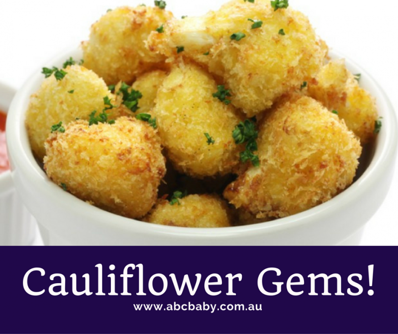 Cauliflower gems abc blog australian baby card cauliflower gems forumfinder Image collections