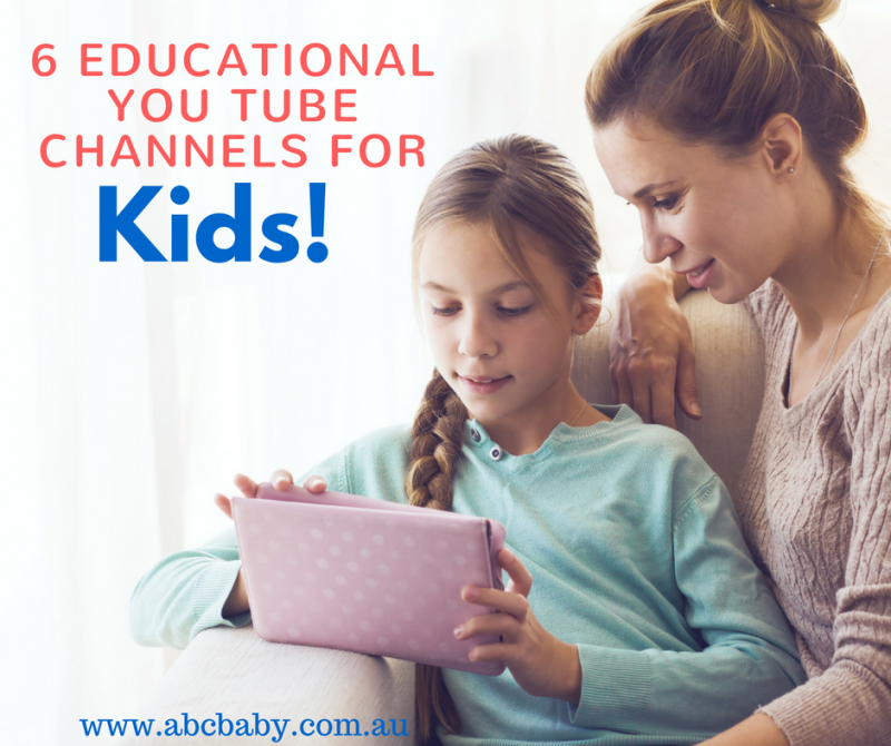 6 Educational You Tube Channels For kids