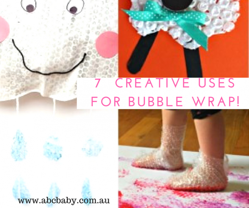 7  Creative Uses For Bubble Wrap